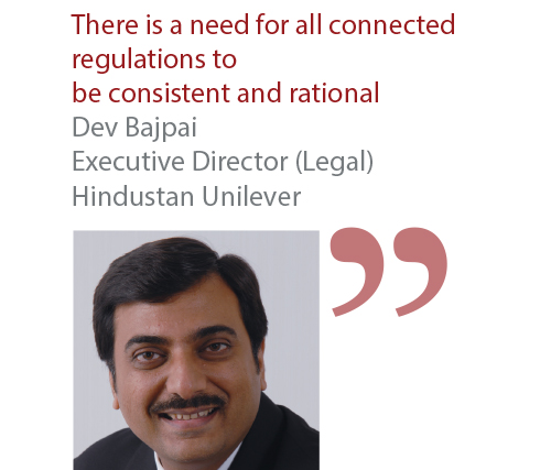 Dev Bajpai Executive Director (Legal) Hindustan Unilever