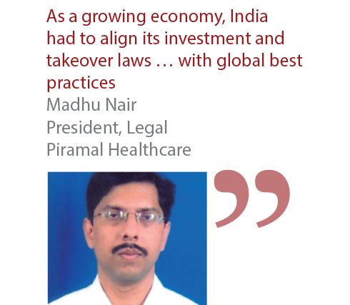 Madhu Nair President, Legal Piramal Healthcare