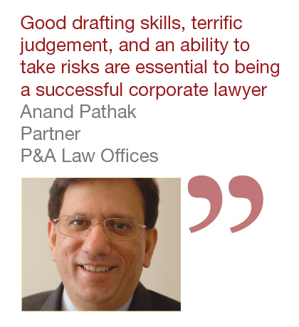 Anand Pathak, partner, P&A Law Offices