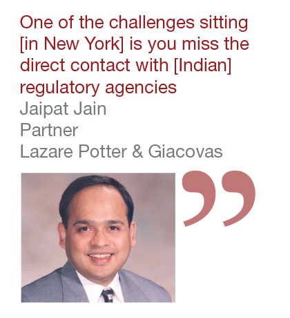 Jaipat Jain, Partner, Lazare Potter & Giacovas