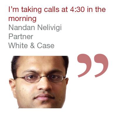 Nandan Nelivigi, Partner, White & Case