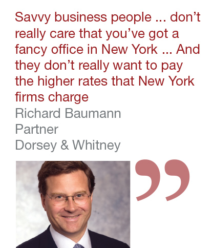 Richard Baumann, Partner, Dorsey & Whitney