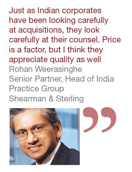 Rohan Weerasinghe, Senior Partner, Head of India Practice Group, Shearman & Sterling