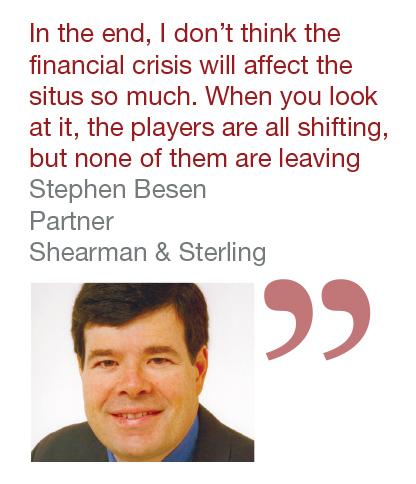 Stephen Besen, partner, Shearman & Sterling