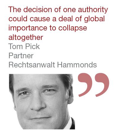 Tom Pick, Partner, Rechtsanwalt Hammonds