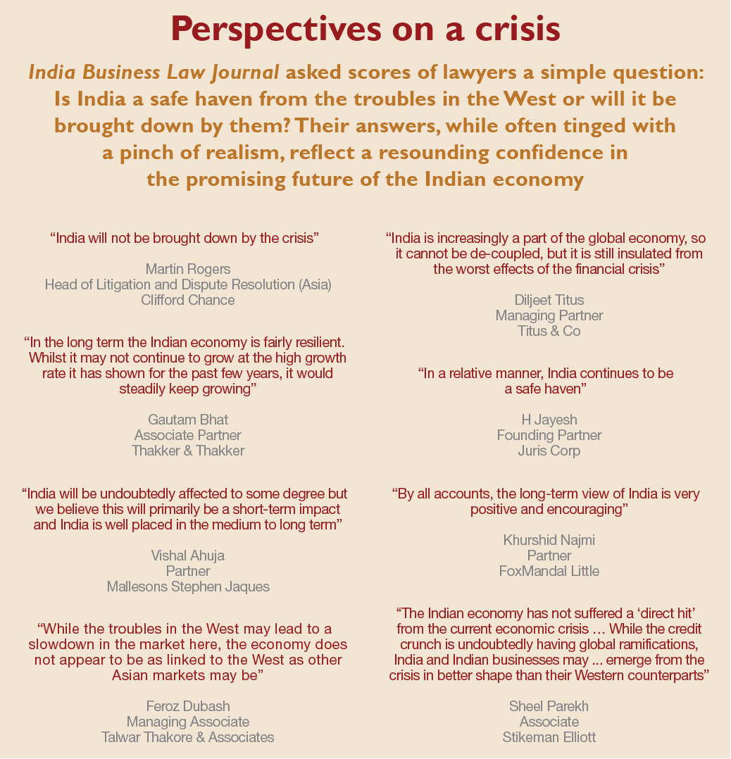 Perspectives on a crisis