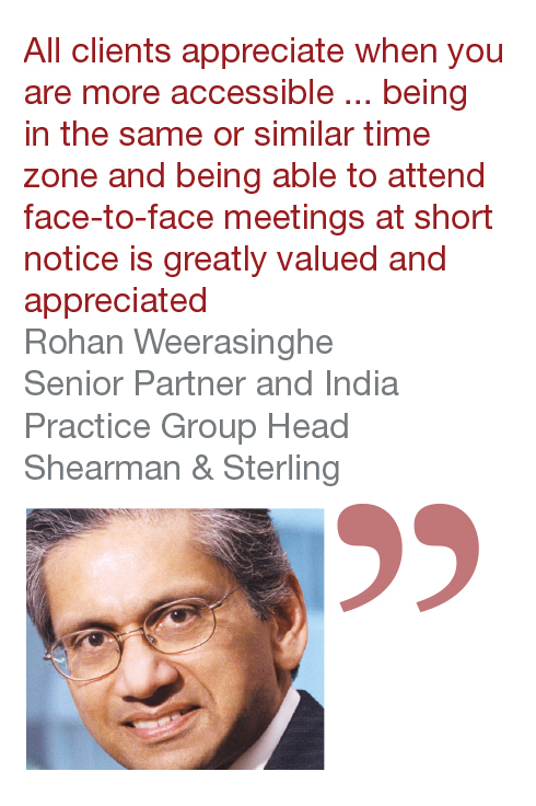 Rohan Weerasinghe Senior Partner and India Practice Group Head Shearman & Sterling