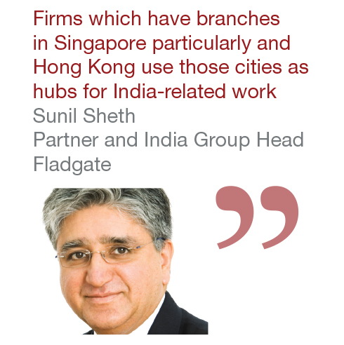 Sunil Sheth Partner and India Group Head, Fladgate