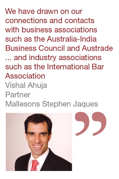 Vishul Ahuja Partner Mallesons Stephen Jaques