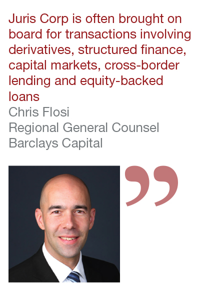 Chris Flosi, Regional General Counsel, Barclays Capital