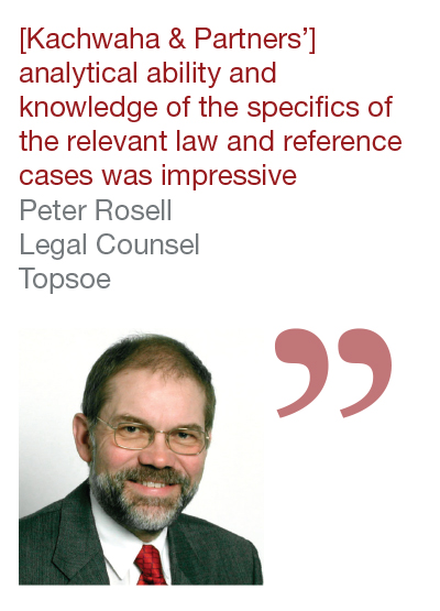 Peter Rosell, Legal Counsel, Topsoe