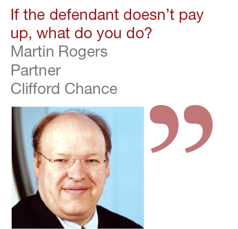 Martin Rogers Partner Clifford Chance