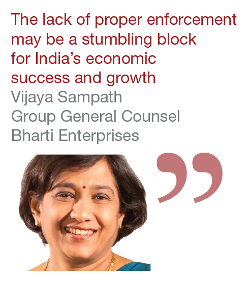 Vijaya Sampath Group General Counsel Bharti Enterprises