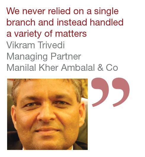 Vikram Trivedi Managing Partner Manilal Kher Ambalal & Co