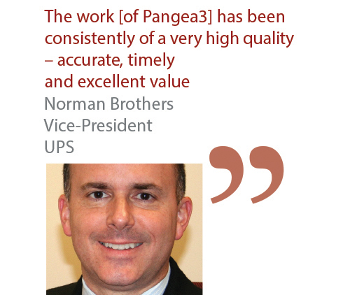 Norman Brothers Vice-President UPS