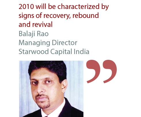Balaji Rao Managing Director Starwood Capital India