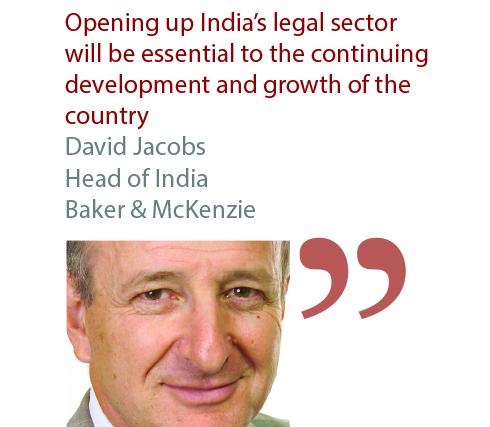 David Jacobs Head of India Baker & McKenzie