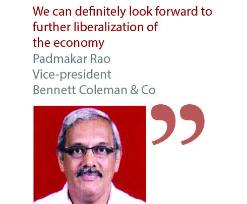 Padmaker Rao Vice-president Bennett Coleman & Co