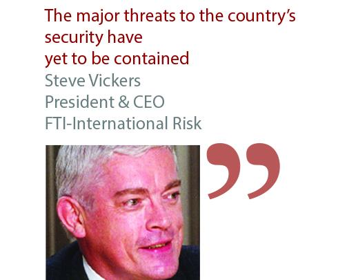 Steve Vickers President & CEO FTI-International Risk