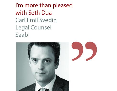 Carl Emil Svedin Legal Counsel Saab