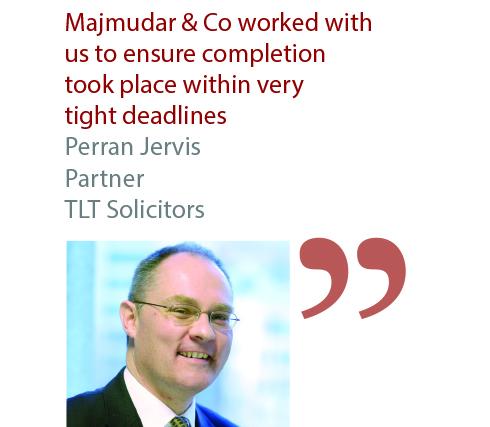 Perran Jervis Partner TLT Solicitors