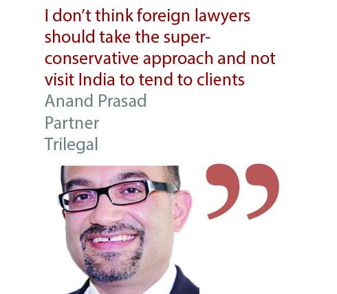 Anand Prasad Partner Trilegal