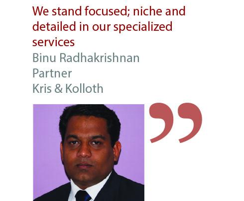 Binu Radhakrishnan Partner Kris & Kolloth