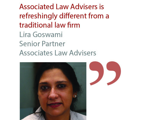 Lira Goswami Senior Partner Associates Law Advisers