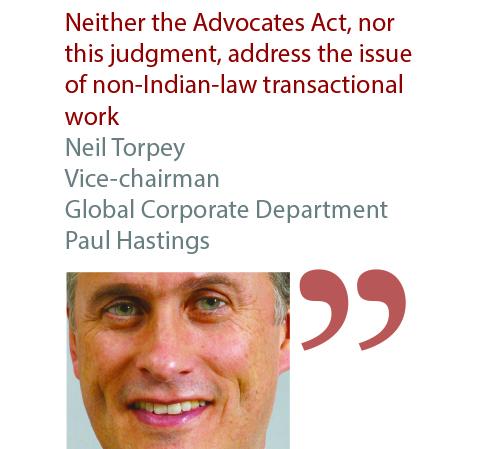 Neil Torpey Vice-chairman Global Corporate Department Paul Hastings