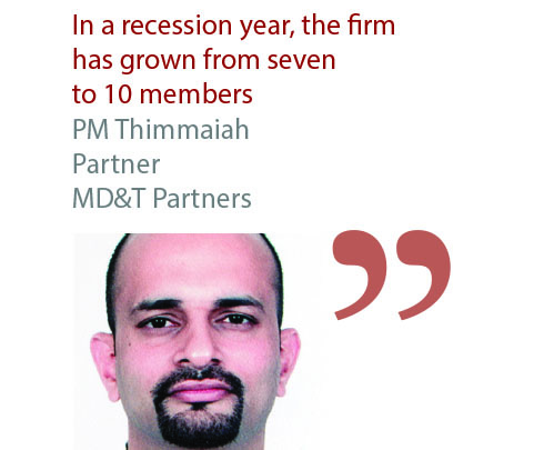 PM Thimmaiah Partner MD&T Partners