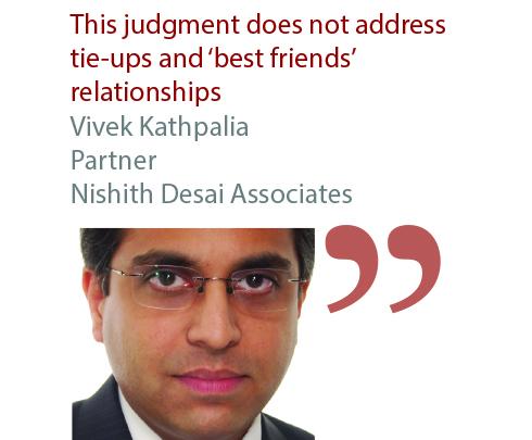 Vivek Kathpalia Partner Nishith Desai Associates