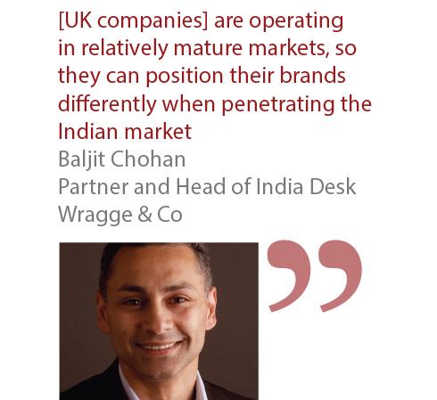 Baljit Chohan Partner and Head of India Desk Wragge & Co