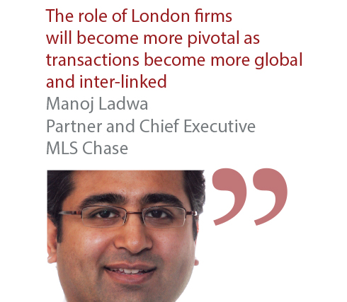 Manoj Ladwa Partner and Chief Executive MLS Chase