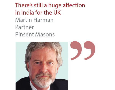 Martin Harman Partner Pinsent Masons