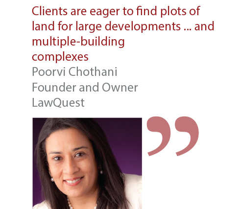 Poorvi Chothani Founder and Owner LawQuest