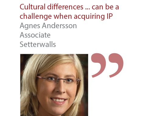 Agnes Andersson Associate Setterwalls