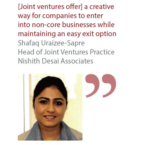 Shafaq Uraizee-Sapre Head of Joint Ventures Practice Nishith Desai Associates