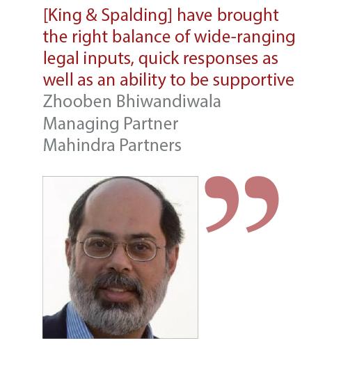 Zhooben Bhiwandiwala Managing Partner Mahindra Partners