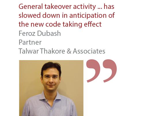 Feroz Dubash Partner Talwar Thakore & Associates