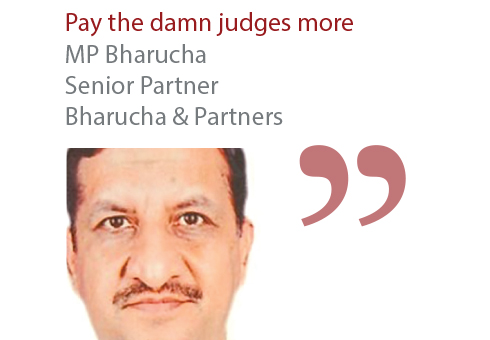 MP Bharucha Senior Partner Bharucha & Partners