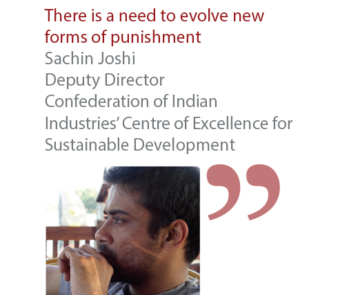 Sachin Joshi Deputy Director Confederation of Indian Industries' Centre of Excellence for Sustainable Development