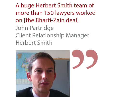 John Partridge Client Relationship Manager Herbert Smith