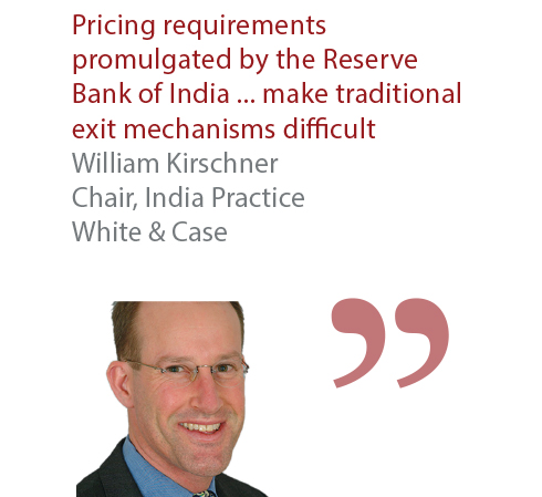 William Kirschner Chair, India Practice White & Case