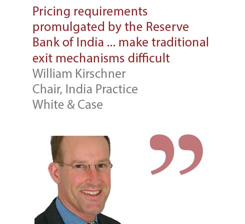 William Kirschner Chair, India Practice White & Case