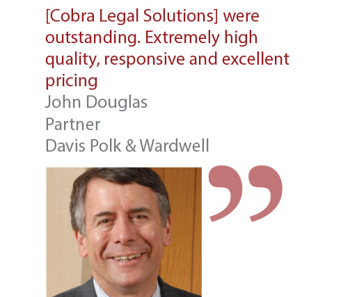 John Douglas Partner Davis Polk & Wardwell