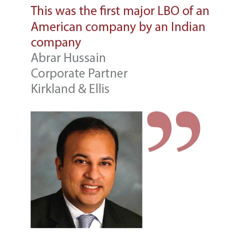 Abrar Hussain Corporate Partner Kirkland & Ellis