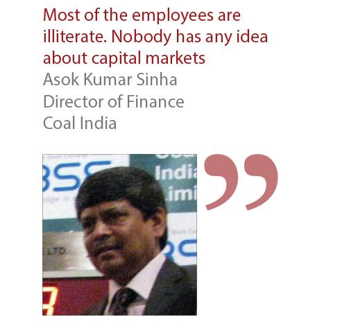 Asok Kumar Sinha Director of Finance Coal India
