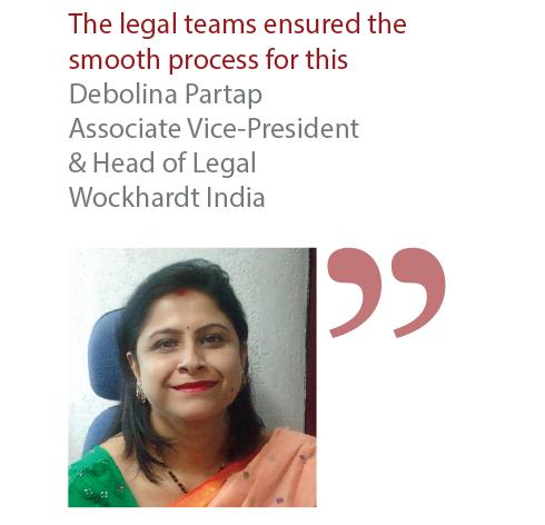 Debolina Partap Associate Vice-President & Head of Legal Wockhardt India