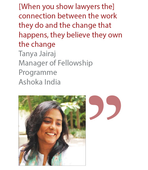 Tanya Jairaj Manager of Fellowship Programme Ashoka India
