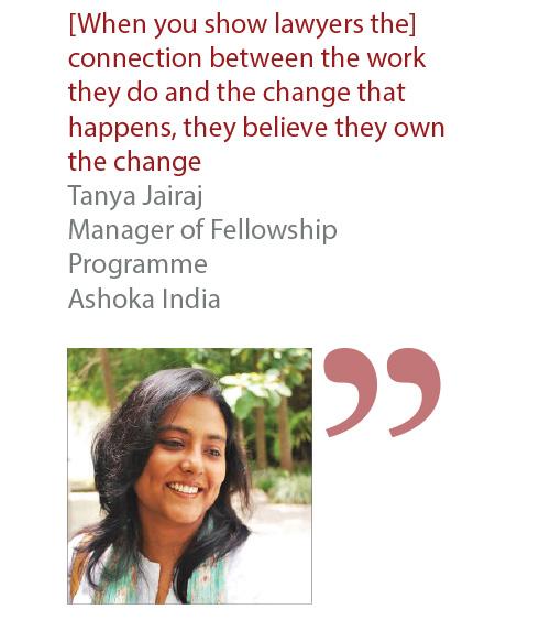 Tanya Jairaj Manager of Fellowship Programme Ashoka India